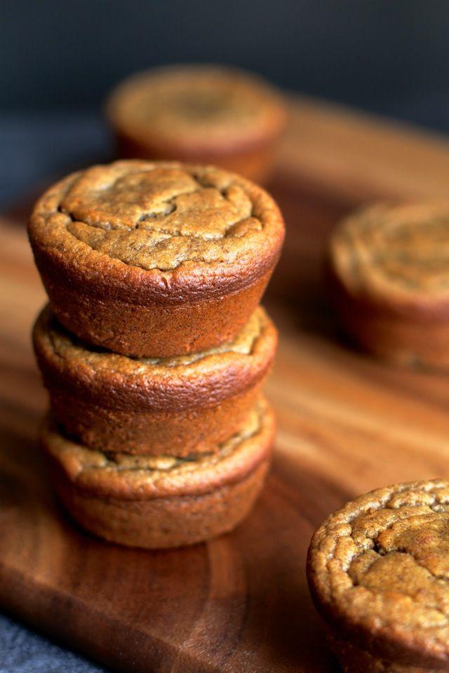 Flourless Banana Bread Muffins2