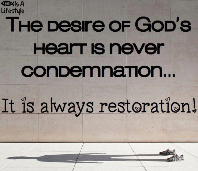 17 Best images about Making time for God on Pinterest ... |Restoration Of Relationship
