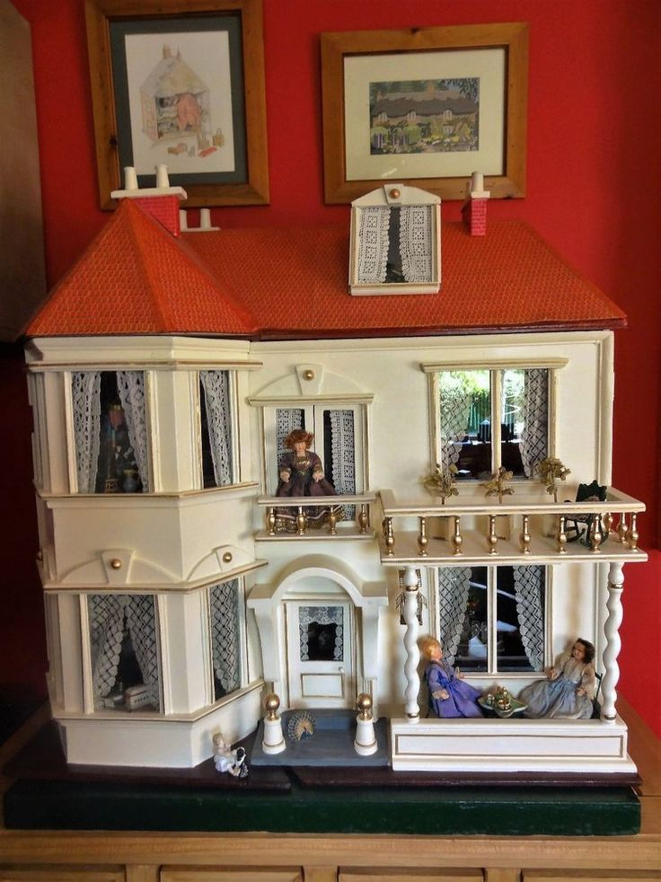 A large and rare antique G&J Lines Dolls House No.3 with elevator, circa 1910.  | eBay