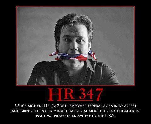 HR-347: continuing 21st century America's passionate drive to stamp out every line of the First Amendment
