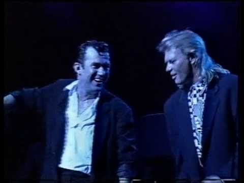 Jimmy Barnes & John Farnham - When Something Is Wrong With My Baby .. [Live on Soul Deep Tour]
