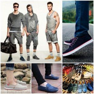 Модная летняя мужская обувь 2015 года