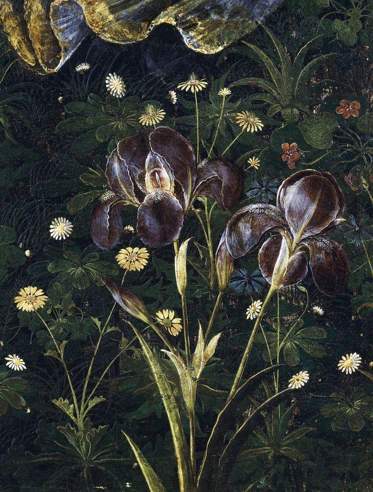 """Sandro Botticelli, Primavera, (detail), 1482 Uffizi, Florence """