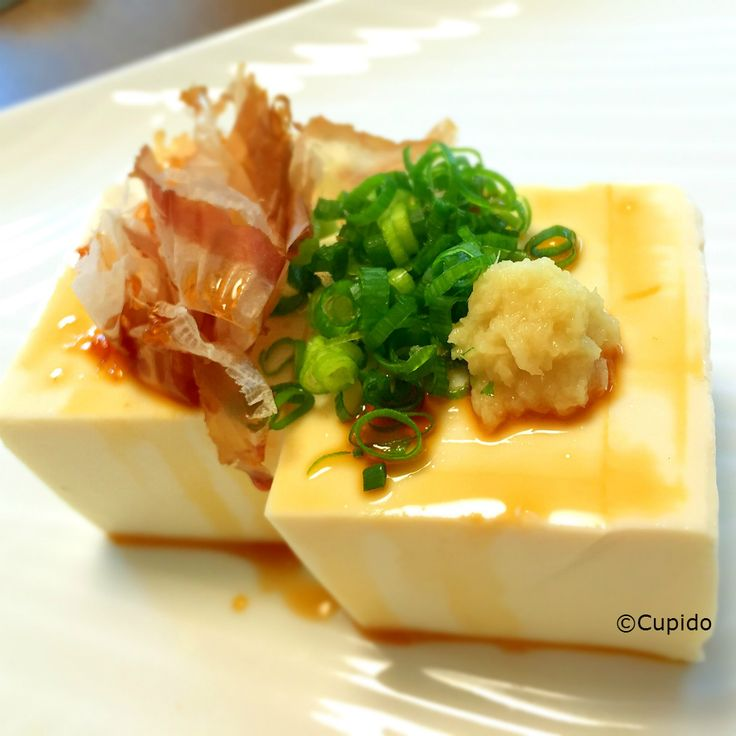 【5-Minute Appetizer】Hiya-Yakko (Chilled Tofu) | Cupido