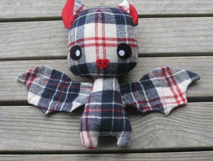 Handmade Bat Soft Toy