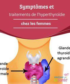 Symptômes et #traitements de l'hyperthyroïdie chez les femmes   Nous vous présentons les #symptômes les plus courants et les traitements contre #l'hyperthyroïdie chez les femmes, une #maladie très fréquente.