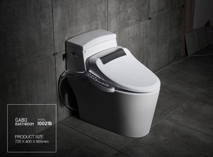GABO Luxury Smart Toilet / Automatic Toilet with Bidet Combo