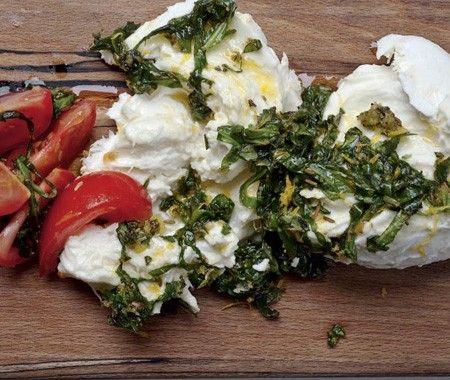 Marinated Buffalo Mozzarella & Tomato Salad Recipe   from Yotam Ottolenghi's Plenty cookbook  House & Home