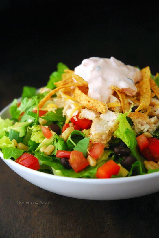 Chicken Fajita Southwest Salad