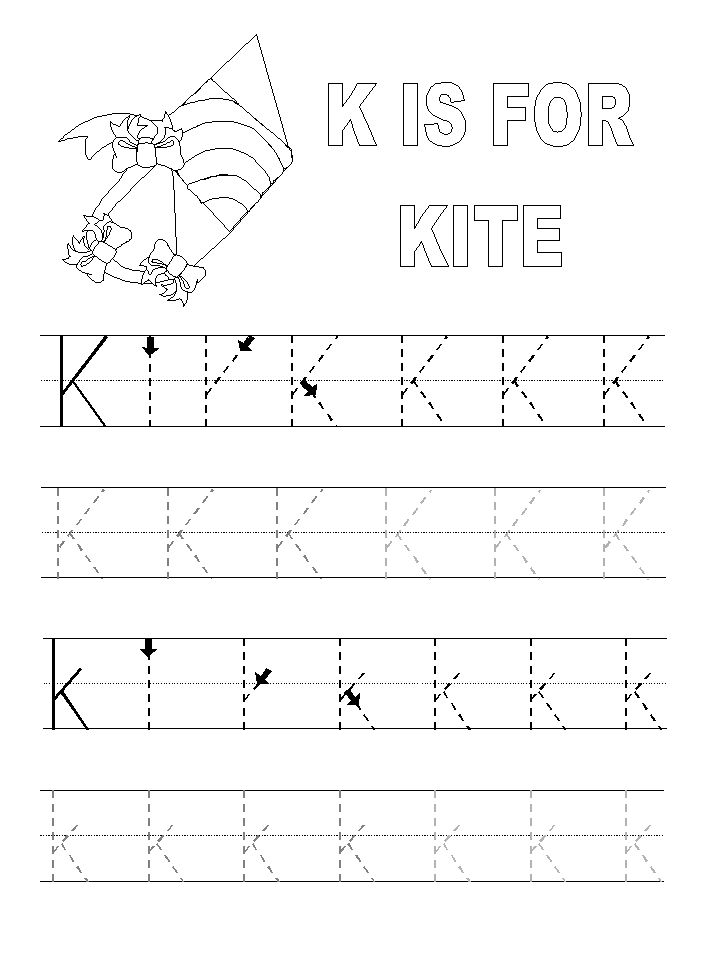 k is for kite templates
