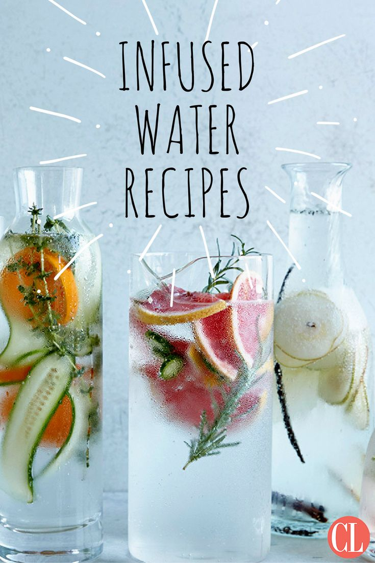 With no added sugar and virtually no calories, infused waters are an easy way to increase water intake. | Cooking Light