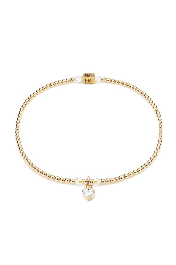 Gold & Swarovski crystals will be the perfect addition to help you sparkle & shine