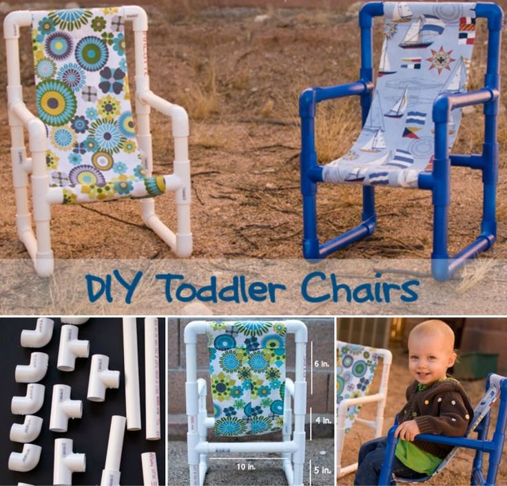 DIY Toddler Chair Cover