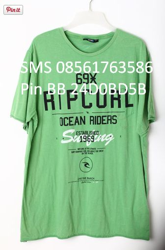 [Big SIze] KAOS RIPCURL ORIGINAL Kode TO RIPCURL 223 Size 	XXL only @150RB