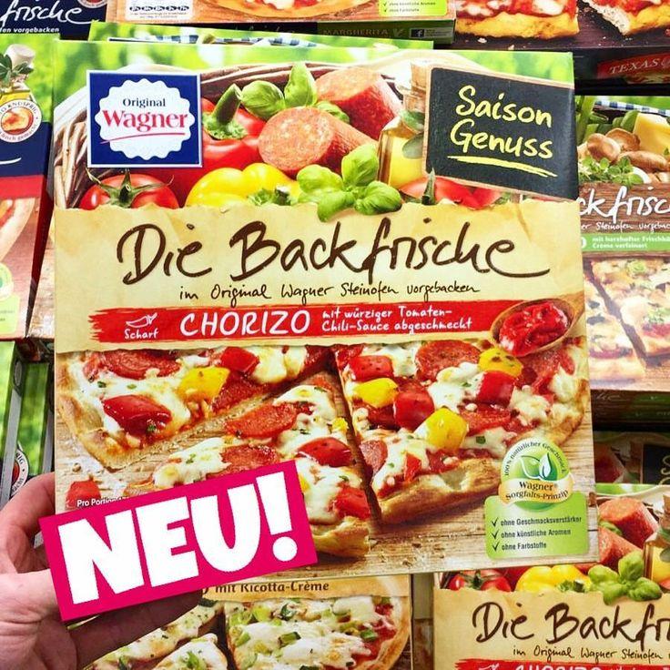 """WAGNER PIZZA """"DIE BACKFRISCHE"""" CHORIZO, PRODUKTNEUHEIT, Lebensmittelneuheiten, neu, foodnews, foodnewsgermany, foodnewsgermany 2017, foodblogger, germanfood, Supermarkt, Frühstück, Mittagessen, Abendessen, Snacks, food, new, www.foodnewsgermany.de"""