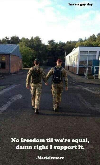 Military gay love