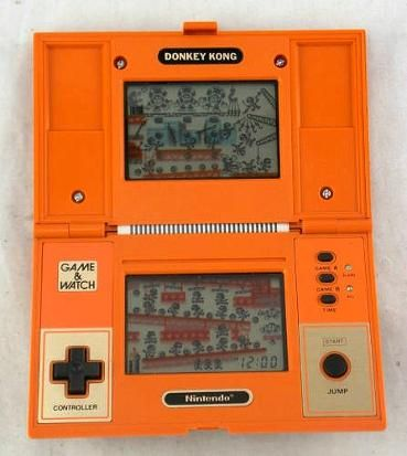 Nintendo Donkey Kong Game & Watch hand-held console (1982)