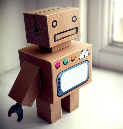 New Papercraft has been published at PaperCraftSquare: Link: Craft Name: A Robot Cube Craft Free Paper Toy DownloadDescription: This paper toy is a cube craft Robot, designed by BrynJones. 160 GSM...