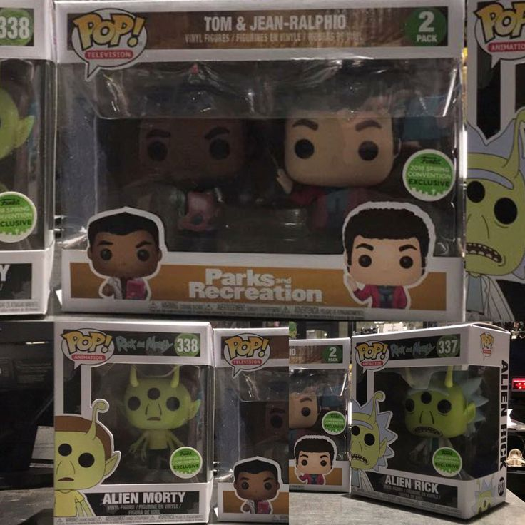Closer look at Hot Topic Exclusive ECCC Rick and Morty and Park Recreation 2-pack. They will be available in store tomorrow morning when they open. Online may possibly be tonight 3am EST or tomorrow 1pm EST. Not guaranteed. Pic cr: Hot Topic Haywood - #funko #funkopop #funkopopvinyl #funkophotoaday #funkoaddict #funkocollection #funkocollector #funkocommunity #funkofan #funkofanatic #funkofunatic #funkofam #funkohunter #funkomania #funkonyc #nyc #toys #collectibles #eccc#eccc2018 #hottopic…