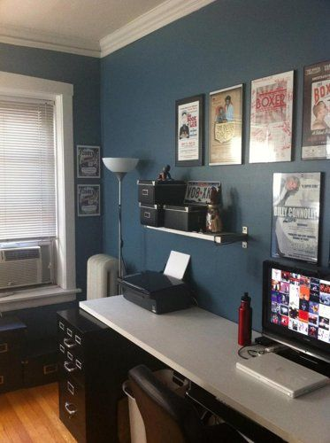 Paint Colors For Home Office Small Spaces