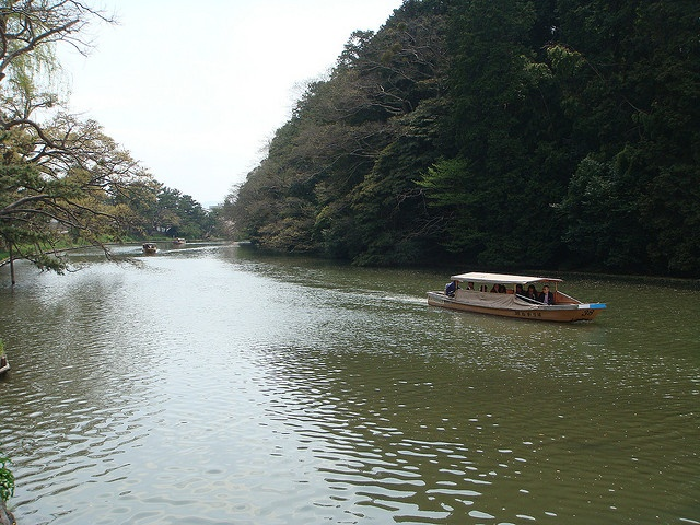 ぐるっと松江堀川めぐり(島根・松江) Matsue-horikawa sightseeing boat, Matsue, Shimane, Japan