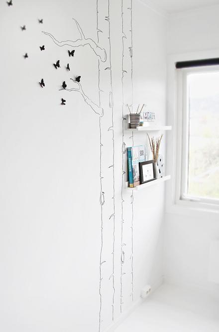 Cómo decorar paredes de manera original?