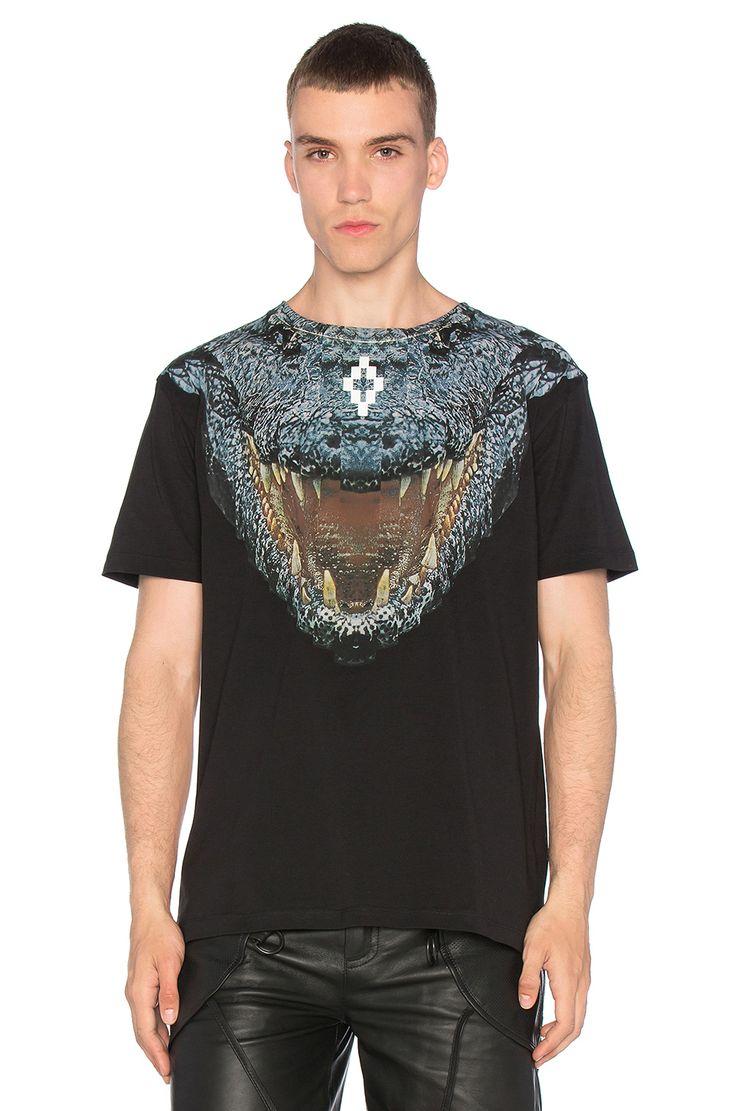 MARCELO BURLON Recoleta Tee. #marceloburlon #cloth #top #shirt #sweater #leather #denim #cashmere #pant #jean