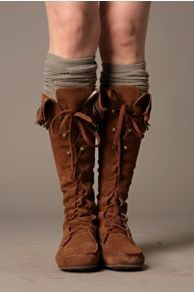 oh yes....moccasin boots and socks