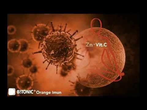Imunitate puternica cu B!TONIC Orange Imun