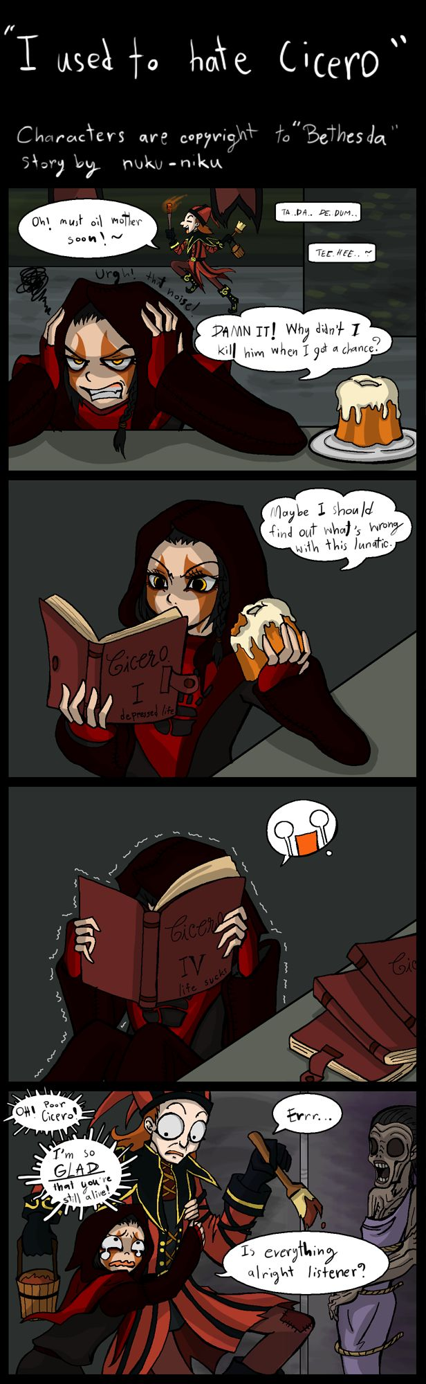 I used to hate Cicero by Nuku-Niku on deviantART-Though I never hated himself...
