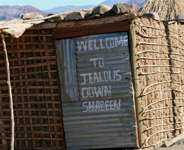 Welcome to Jealous Down Shebeen