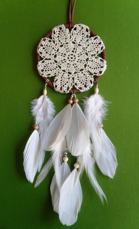 dream catcher as a post-type-earring-holder. I wold LOVE this in a mini version as a necklace too.