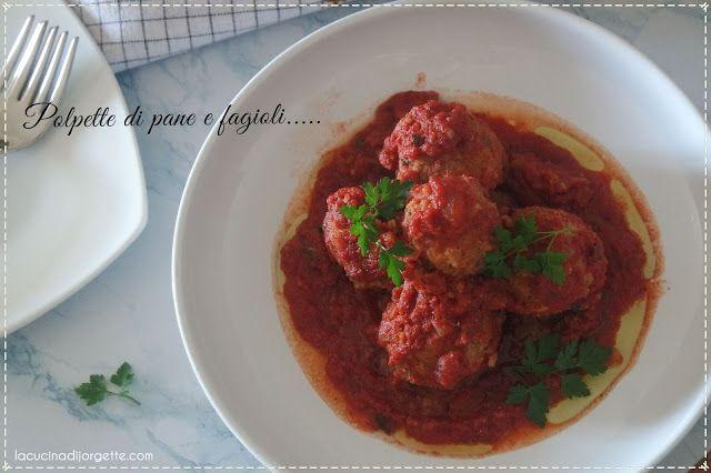la cucina di Jorgette: Polpette di Pane e Fagioli....