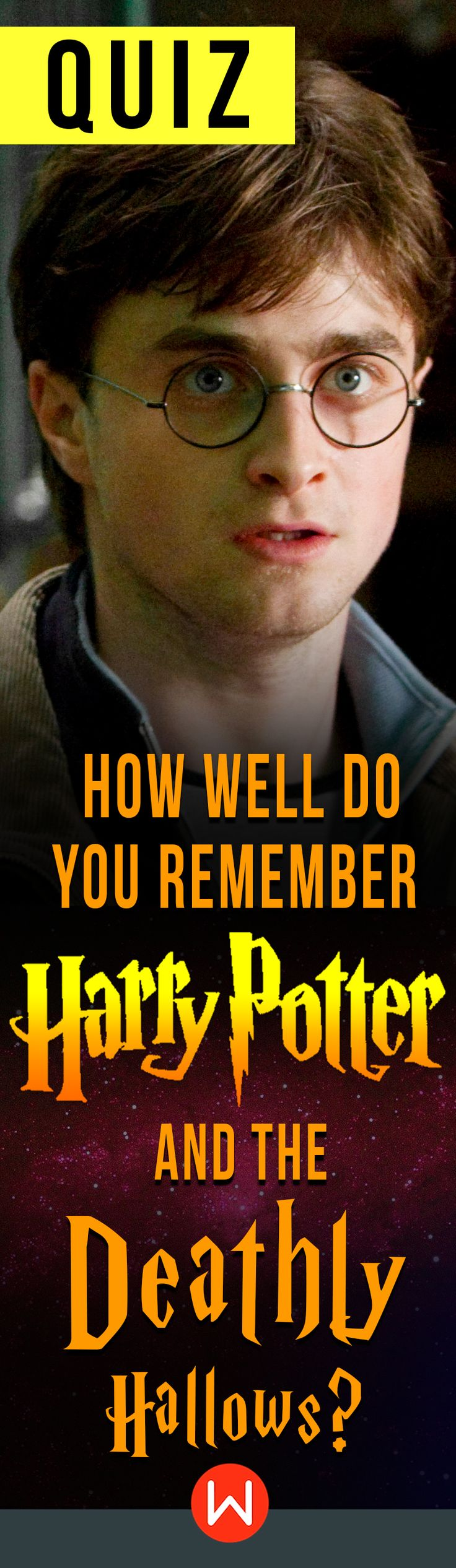Do you dare? Harry Potter and the Deathly Hallows trivia. How much do you REALLY remember HP and the Deathly Hallows? Test yourself on this HP quiz. ONLY real fans will ace this test. Will you?