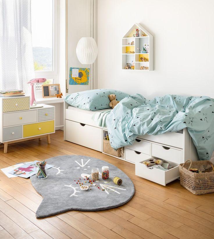 Micasa Kinderzimmer mit Bettwäsche DARIA & Teppich MIA
