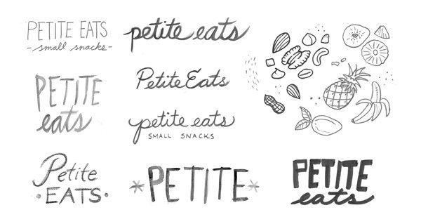 Petite Eats by Corinne Alexandra, via Behance