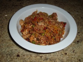 Arroz Con Pollo: Translated means Chicken with Rice in Spanish. This is a great family dinner filled with flavor and people will be coming back for more.