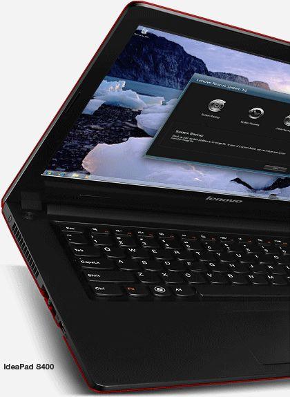 IdeaPad S400 Touch: Con un perfil delgado, capacidades superiores de procesamiento y de sus 10 puntos en la pantalla multi-touch, no te podés perder estas laptops elegantes y de bajo costo.  www.lenovo.com/ar
