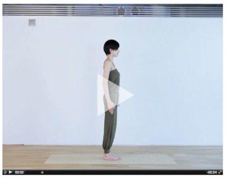 #mae yoshikawa #Surya Namaskar a http://maeyoga.com/asana //Manbo
