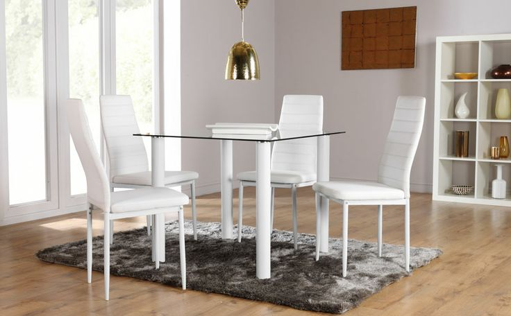 furniture choice. nova \u0026 lunar glass dining set (white) at furniture choice http:// u