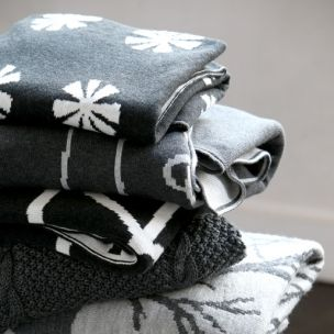 Greys ~ knitted blankets for baby boy