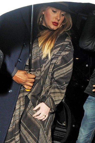 Adele - Stars Arrive for Prince's Concert