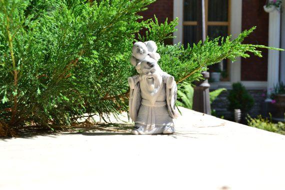 "Unique vintage figurine made of marble ""Confucius"" on Etsy, 29,99$"