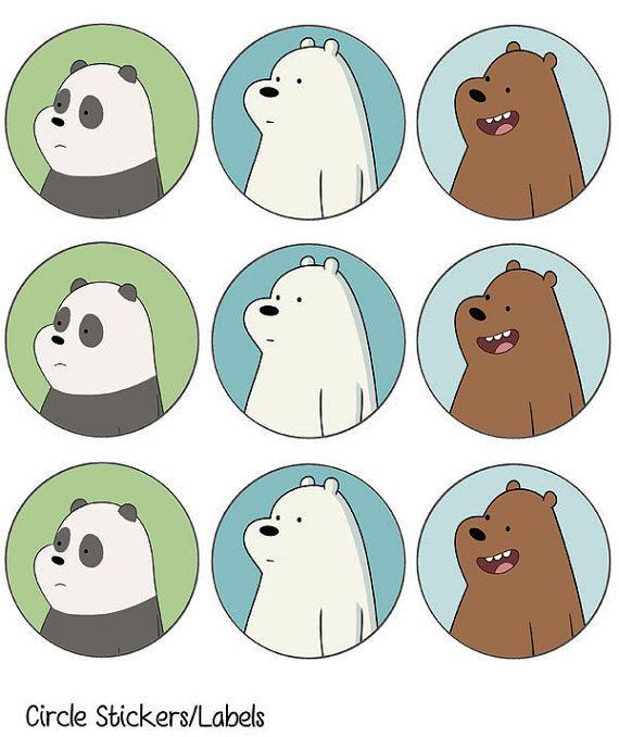 Estamos desnudos osos fiesta paquete por AanrakuyoArtsnCrafts