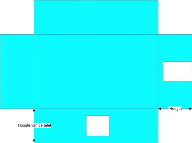 tafeltent maken patroon - Google zoeken