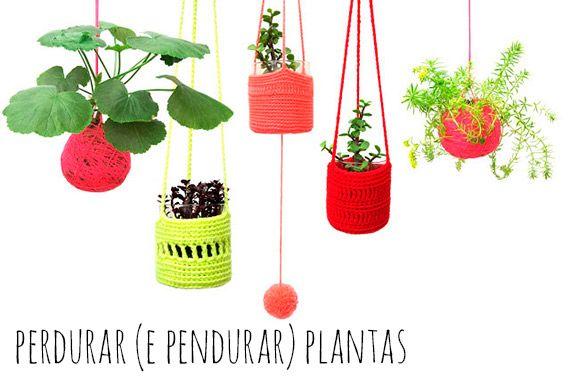 Como perdurar (e pendurar) plantas - dcoracao.com - blog de decoração