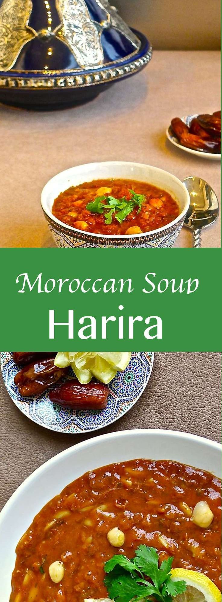 Harira is the traditional soup of Morocco, and more specifically from Fès that is popular as a starter but can also be eaten on its own as a snack. #196flavors