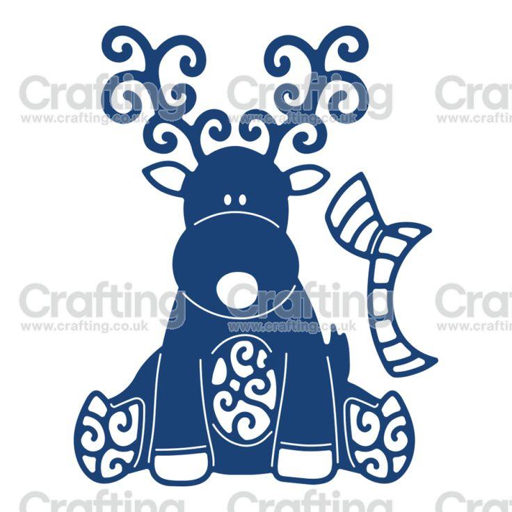 Tattered Lace Dies - Reindeer. SO CUTE!!!!