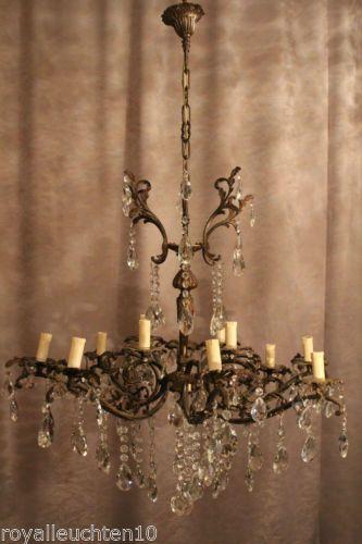 Exceptional Gigantischer Krsitall Schaftlüster Kronleuchter Lüster Lampe Antique  Chandelier Zu Finden Bei Http://www Good Ideas