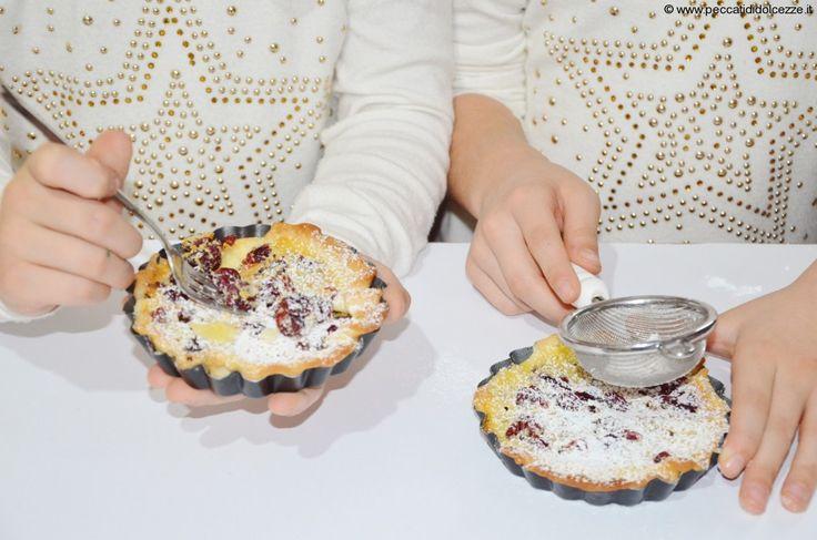 Kids Food:Crostatine Ai Mirtilli e Crema Mascarpone   Peccati di Dolcezze